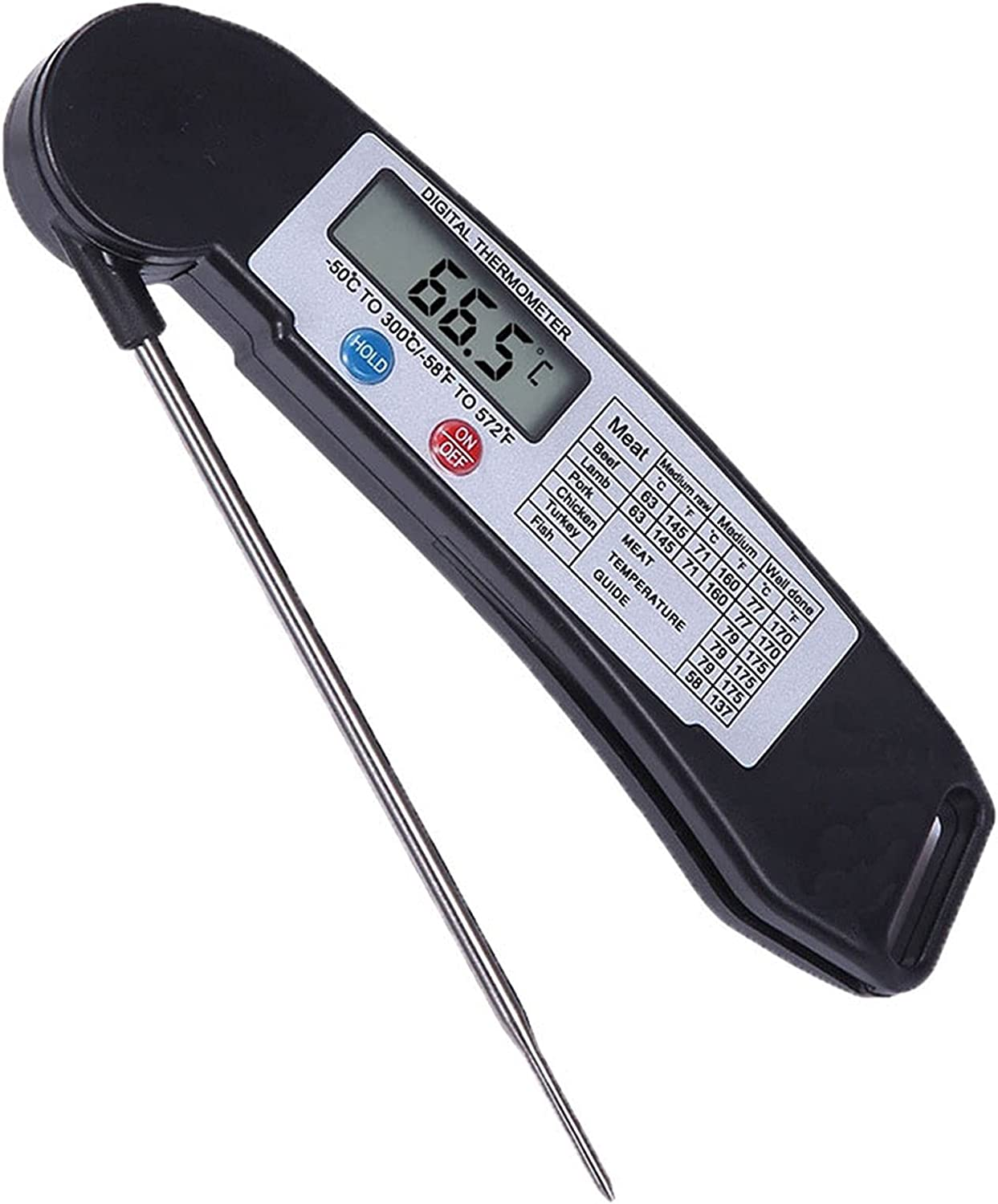 Odekai Instant Read Meat Max 69% OFF for Food Thermometer Boston Mall Cooki