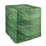 WestbergTrimble Air Conditioner Cover - Hedge/Leaf Design - Fits up to 32 X 32 X 36 - AC Cover for Outside Units - Durable Square Bush/Shrub/Camo Print