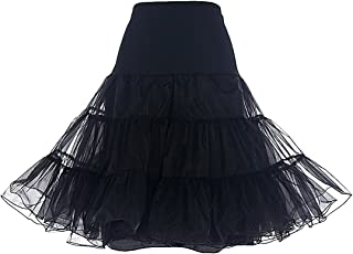 Women's Vintage Rockabilly Petticoat Skirt Tutu 1950s Underskirt