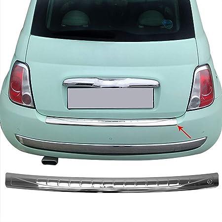 Stoßstange Leiste Hinten Unten Schwarz für Fiat 500 Baujahr 2007-2015