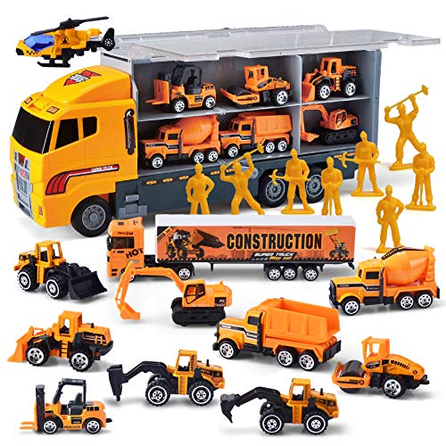 JOYIN 11 in 1 Die-cast Construction...