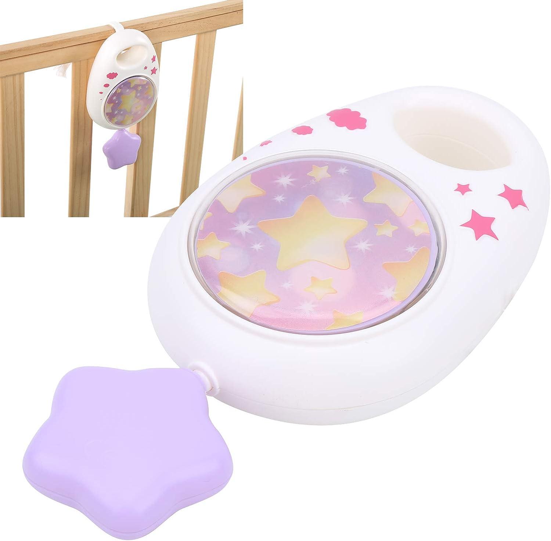 Sky Blue Caja de m/úsica para Cuna para el hogar del Dormitorio del beb/é para ni/ños Caja de m/úsica para beb/és Suministros para beb/és de f/ácil operaci/ón