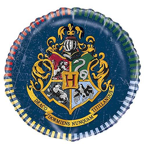Unique Party Supplies 59077 Folien-Geburtstags-Luftballon - 45 cm - Harry Potter Party
