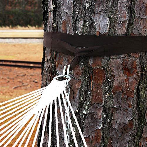 The Garden Hammocks A Set Of Tree Strap Kit (2 nos)-Hanging Nylon Strap for Hammocks & Swings