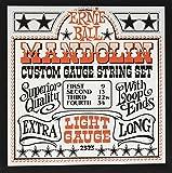 Cuerdas de guitarra Ernie Ball Light Loop End acero inoxidable mandolina - 9-34 Gauge