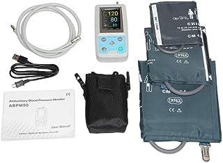 WANG 24 Horas ambulatorio de presión sanguínea Monitor Holter Mapa Holter BP Monitor con Software Contec