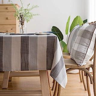 رومیزی / رومیزی مستطیل مربع LINENLUX شیک / رومیزی برای تزیین سفره آشپزخانه دکوراسیون مستطیل خاکستری / شفاف 55 X 86 در