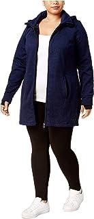 Calvin Klein Blue Women's Plus Size Walker Jacket; Ink Blue (1X)