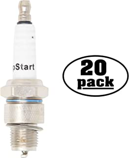 UpStart Components 20-Pack Replacement Spark Plug for Subaru Robin Engine Power Equipment EY28 4-Cycle Side Valve 7.5 h.p. - Compatible with Champion L90C & NGK B6HS Spark Plugs