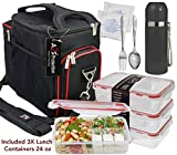 Best Thermos Mens Lunch Boxes - A2S Complete Meal Prep Lunch Box - 8 Review