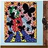 プリント油絵壁画草間彌生青年の死家の装飾壁画リビングルーム絵画用-60x80cmx1フレームなし