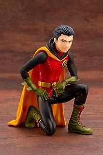 Kotobukiya DC Comics: Damian Wayne Robin Ikemen 1: 7 Scale Statue, Multicolor, 10 inches