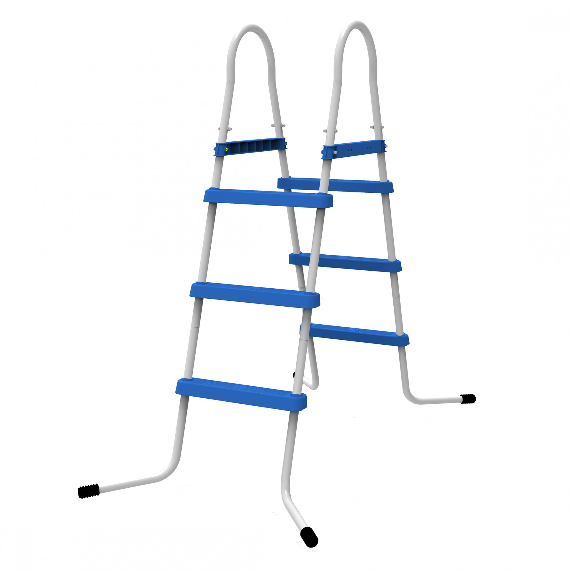 Jilong 3 Niveles Pool Escalera para Piscina Pared Alturas hasta 109 cm, Azul, 80 x 60 x 140 cm, 29r145: Amazon.es: Jardín