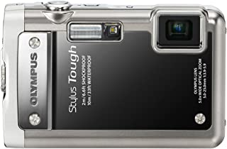 Olympus Stylus Tough 8010 14MP Digital Camera with 5x Wide Angle Zoom and 2.7 inch LCD (Black) (Old Model)