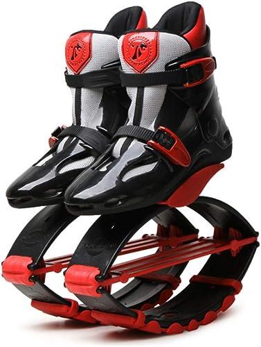 Instag Kangourou Chaussures de de Saut Rebound Body Chaussures de Fitness Chaussures Bouncing Anti-Gravité Bottes de Course Bounce Sauter Chaussure pour Adultes Enfant,XL  parfait