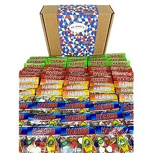 the ultimate haribo mini bags sweets hamper - hamper exclusive to burmont's The Ultimate Haribo Mini Bags Sweets Hamper – Hamper Exclusive to Burmont's 61AI3vDlgKL