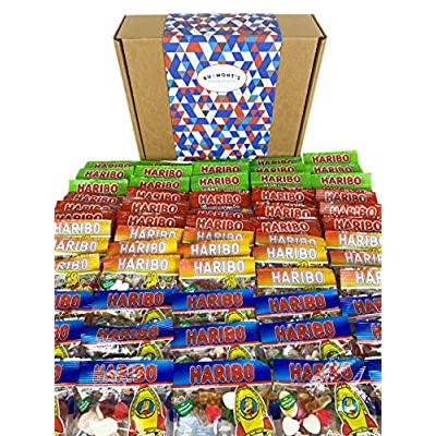 the ultimate haribo mini bags sweets hamper - hamper exclusive to burmont's The Ultimate Haribo Mini Bags Sweets Hamper – Hamper Exclusive to Burmont's 61AI3vDlgKL