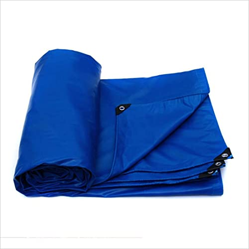 JXXDDQ Tissu imperméable épais Bleu Prougeection Contre Le Vent et Le Soleil Double Face sans Odeur (Couleur   bleu, Taille   3m × 4m)