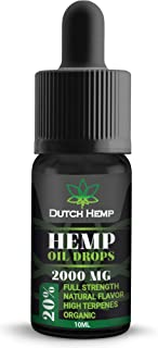 Dutch Hemp Pure Oil | Natural and Authentic | Best from The Netherlands