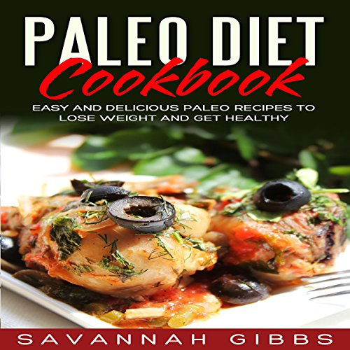 Paleo Diet Cookbook audiobook cover art