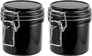 Minkissy 2Pcs Wimper Lijm Opslag Tanks Lijm Activated Carbon Verzegelde Lash Lijm Container Valse Wimpers Verlenging Adhes...