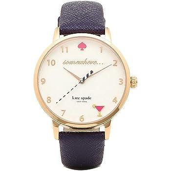 [ケイトスペード] 腕時計 レディース KATE SPADE KSW1040 ホワイト/ネイビー [並行輸入品]