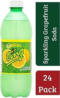 Ting GrapeFruit Lightly Carbonated Soda, 20 Ounce (Pack of 24) Spectacular Sparkling Grapefruit, Premium Mixer Bursting With Real Grapefruit
