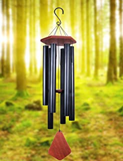 MUMTOP Wind Chimes Outdoor Large Deep Tone, Musical Tuned Wind Chimes, Metal Outdoor Decorative Wind Chimes Memorial and S...