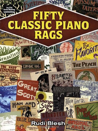 Fifty Classic Piano Rags (Dover Song Collections)