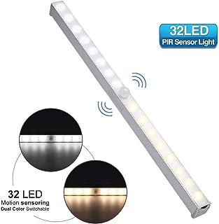 LED Touch Leuchtleiste Schrank Lichtleiste Unterbau Lampe Spotleuchte Batterie