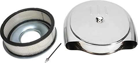 Retro Air Cleaner, Steel, 1951-56 Fits Cadillac/Oldsmobile, Chrome