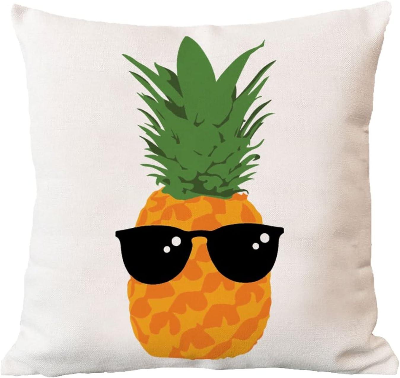 ArogGeld Genuine Waterproof Cushion Cover Drink Low price Pineapple with Sungalsse
