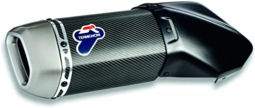 Ducati MTS1200 15-17 Carbon Fiber Slip-On Exhaust System Termignoni 96480711A