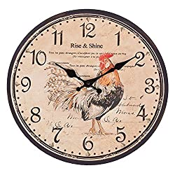 Rise and Shine COQ Rooster Quartz Wall Clock - 13