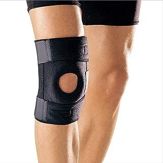Shentukeji Knee Brace Support Protector Adjustable Knee Pad Open Patella Breathable Neoprene (Black)