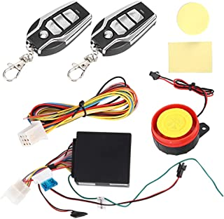 Motorcycle Alarm Anti-Theft Voice Prompt Vibration Alarming with Remote Control 12V