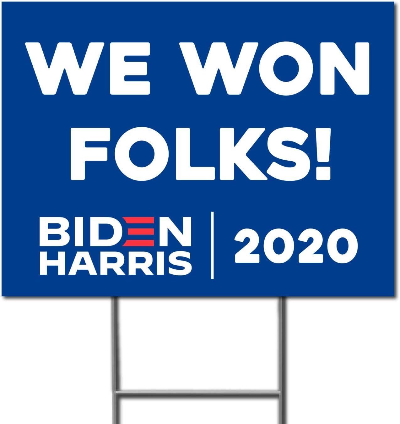 Milweb1 - We Won 使い勝手の良い Folks President 2020 Joe Double Biden Sided 信用