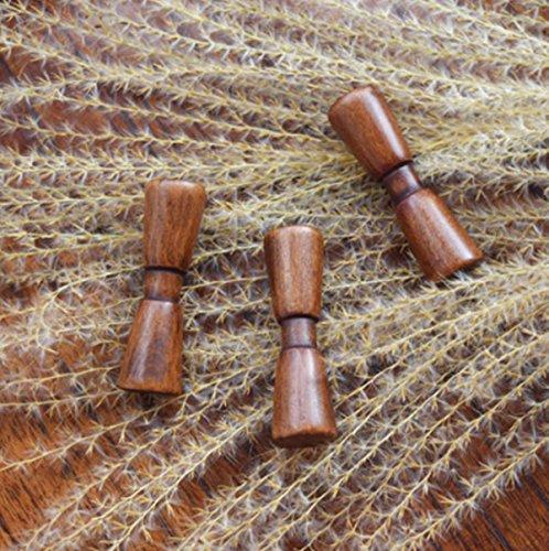 Ltq et Qing (nouveau) -10pcs en bois Baguettes Holder Humpback Baguettes support en bois Baguettes support