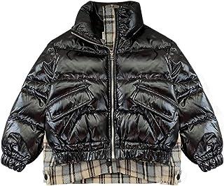 ZNZN Niños Abajo Chaqueta Niños Pequeños Buttler Chaqueta De Plumas Invierno Espesado Cálido Snowsuit Coat Outerwear Light...
