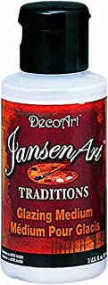 DecoArt Traditions Artist Acrylic Glazing Medium, 8-Ounce