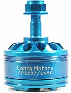 Desconocido Generic Cobra Blue Edition CP2207 2207 2450KV 3-6S Brushless Motor for RC Drone FPV Racing