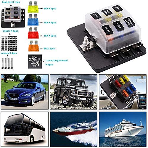 KFZ Sicherungsautomaten bis 32V 5,10,15,20,25A LKW,PKW,Bus,Boot... ETA Set