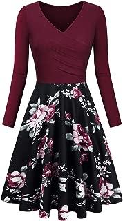Elegant Dresses, Womens Casual Dress A Line Cap Sleeve V Neck