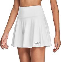 BALEAF Women's High Waisted Tennis Skirt Golf Active Sport Running Skorts Skirts Ball Pockets
