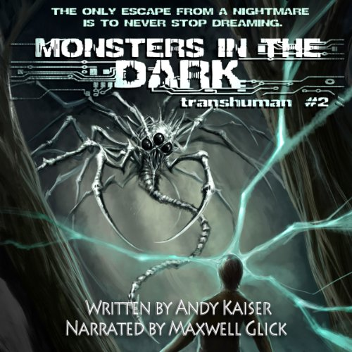 Monsters in the Dark audiobook cover art