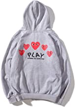 comme des garcons play mens hoodie