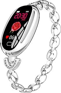 Smart Watches for Women Luxury Diamond Bracelet Wristwatch Heart Rate Monitor Calorie Counter Blood Pressure Sport Watch Waterproof Fitness Tracker