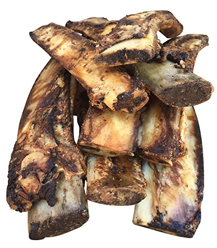 K9 Connoisseur Single Ingredient Dog Bones Made In USA From Grass Fed Cattle 8 To 10 Inch Long All Natural Meaty Rib Marrow Filled Bone Chew Treat Best For Medium Breed Dogs Best Upto 50 Pounds 8 Pack