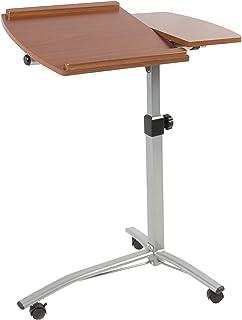 MEDA  Angle & Height Adjustable Rolling Laptop Desk Cart Over Bed Hospital Table Stand
