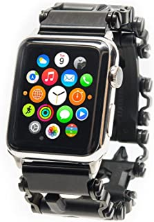 ChronoLinks Leatherman Tread Watch Adapter - Black DLC (Apple 38mm)